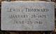 Lewis Thorward