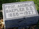 Profile photo: Rev Andrew Baepler