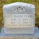 Profile photo:  Alice Maude Clark