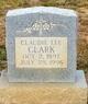 Profile photo:  Claudie Lee Clark