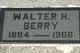 Walter Henry Berry