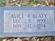 Avice C. <I>Ray</I> Beaty