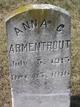 Profile photo:  Anna C Armentrout