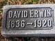 Profile photo: Sgt David M Erwin