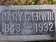 Profile photo:  Mary Guildford <I>McCalmon</I> Erwin