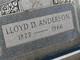 Lloyd Daniel Anderson