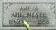 """Profile photo:  Amelia """"Meely"""" Ahlemeyer"""