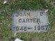 Joan P Carter