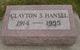 Clayton Stanley Hansel