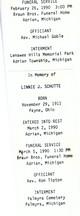 Linnie J.W. <I>Webster</I> Schutte