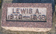 Profile photo:  Lewis A. Zearley