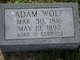 Profile photo:  Adam Wolf
