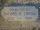 Michael Ray Cahow