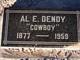 Profile photo:  Al E Dendy