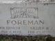 William Ernest Foreman