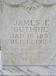 James Edward Guthrie