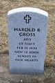 Profile photo:  Harold Ray Gross