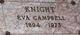 Eva Margaret <I>Campbell</I> Knight