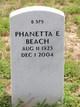Profile photo:  Phanetta E. Beach