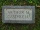Profile photo:  Arthur M. Campbell
