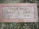 Lillie <I>Garrison</I> Reed