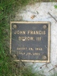 John Francis Burow, III