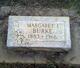 Margaret I Burke
