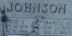 Frances Anna <I>Jacobson</I> Johnson