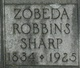 Zobeda <I>Robbins</I> Sharp