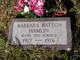 Barbara <I>Batton</I> Hamlin