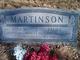 Anna Maria <I>Nelson</I> Martinson