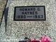 Howard Garfield Haynes