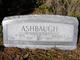 Profile photo:  Bertha E. Ashbaugh