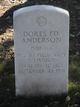 PFC Dores Ed Anderson