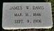 James Webb Davis