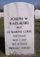 Pvt Joseph Walter Kazlauski