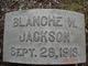 Blanche W. Jackson
