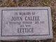 John Calfee