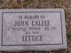 Lettice Calfee