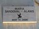 Profile photo:  Maria Sandoval Alanis