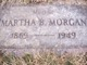Martha <I>Bogard</I> Morgan
