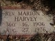 Rev Marion S. Harvey