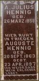 Profile photo:  A Julius Hennig