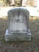 Frances J <I>Hodges</I> Fowler