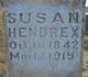 Susan <I>Stinebaugh</I> Hendrex