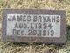 Profile photo:  James Bryans