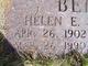 Helen E <I>Goodspeed</I> Behrend