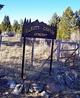 Beaver Canyon Cemetery