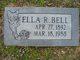 Ella R. Bell