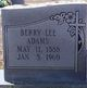 Berry Lee Adams